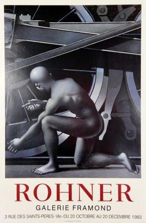 Affiche Rohner - Galerie Framond