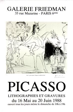 Offset Picasso - Galerie Friedman