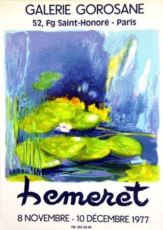 Lithographie Hemeret  - Galerie Gorosane