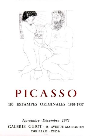 Lithographie Picasso - Galerie Guiot