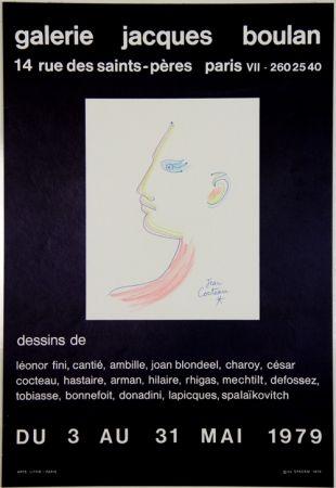 Lithographie Cocteau - Galerie Jacques Boulan