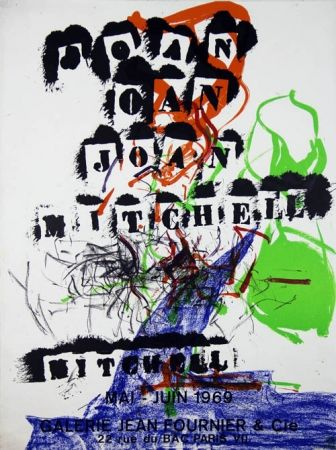 Lithographie Mitchell - Galerie Jean Fournier