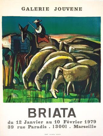Lithographie Briata - Galerie  Jouvene