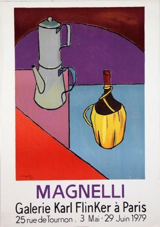 Lithographie Magnelli - Galerie Karl Flinker