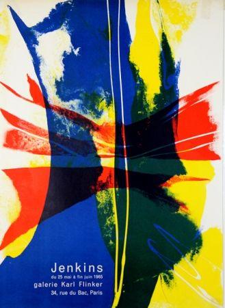Lithographie Jenkins - Galerie Karl Flinker