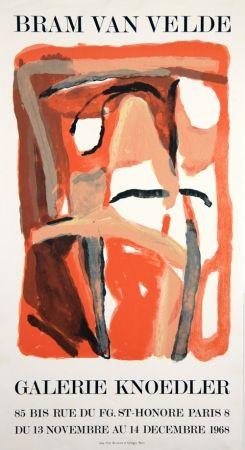 Lithographie Van Velde - Galerie Knoedler