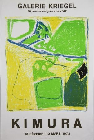 Lithographie Kimura - Galerie Kriegel