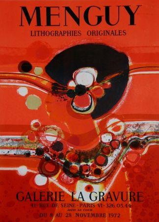 Lithographie Menguy - Galerie La Gravure