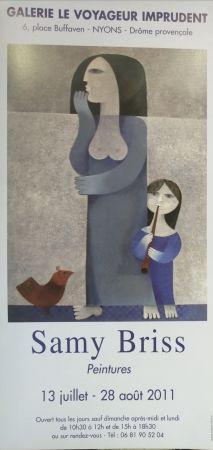 Affiche Briss - Galerie Le Voyageur imprudent