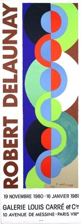 Lithographie Delaunay - Galerie Louis  Carré