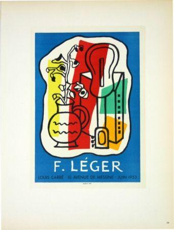 Lithographie Leger - Galerie Louis Carré