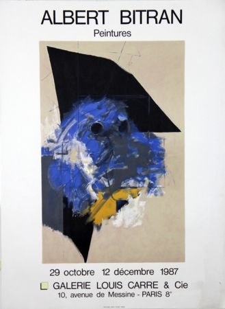 Lithographie Bitran - Galerie Louis Carre