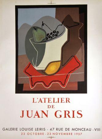 Lithographie Gris  - Galerie Louise Leiris