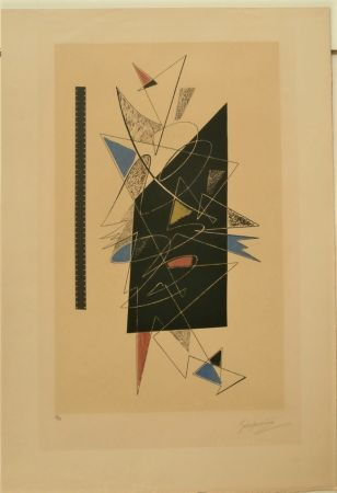 Lithographie Severini - GALERIE LUCIE WEILL
