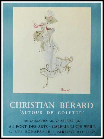 Affiche Berard - GALERIE LUCIE WEILL - ATOUR DE COLETTE