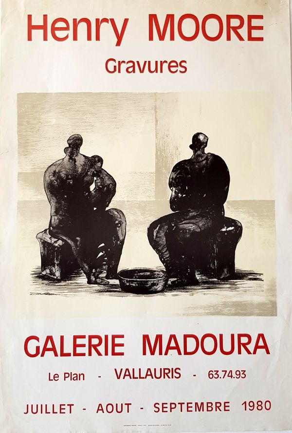 Offset Moore - Galerie Madoura  Vallauris