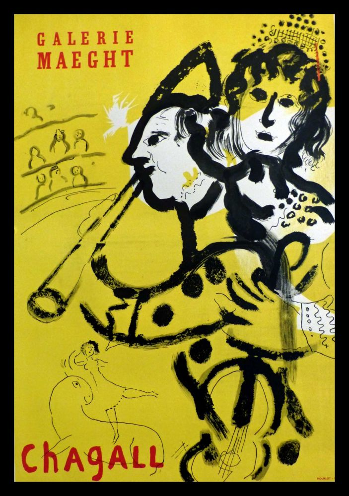 Affiche Chagall - GALERIE MAEGHT
