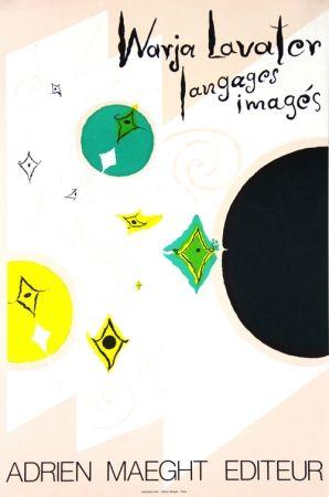 Lithographie Lavater - Galerie Maeght   Langages  Imagés