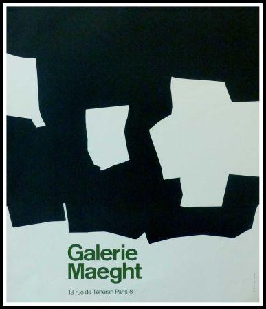 Affiche Chillida - GALERIE MAEGHT PARIS