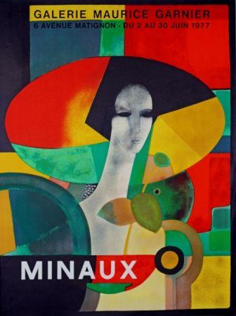 Lithographie Minaux - Galerie Maurice Garnier