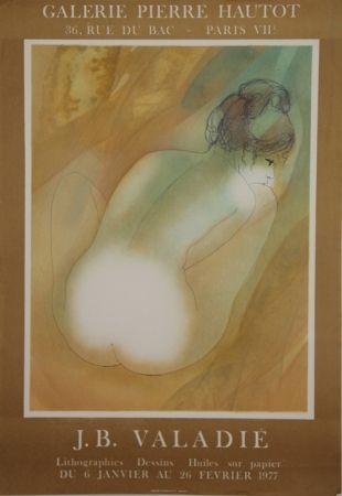 Lithographie Valadie - Galerie Pierre Hautot