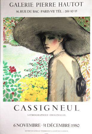 Lithographie Cassigneul  - Galerie Pierre Hautot