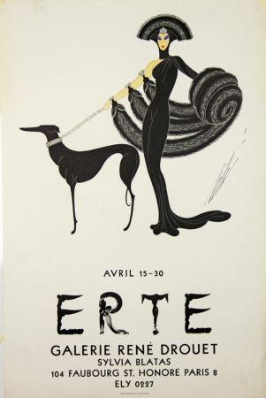 Lithographie Erte - Galerie Rene Drouet