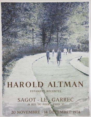 Lithographie Altman - Galerie Sagot Le Garrec