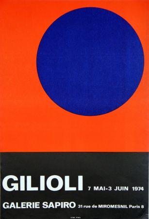 Affiche Gilioli - Galerie Sapiro