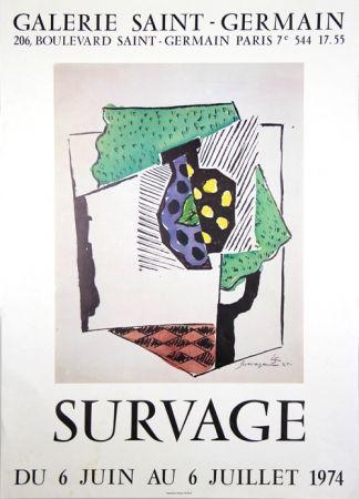 Affiche Survage - Galerie St Germain