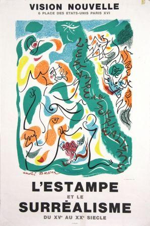Lithographie Masson - Galerie Vision Nouvelle