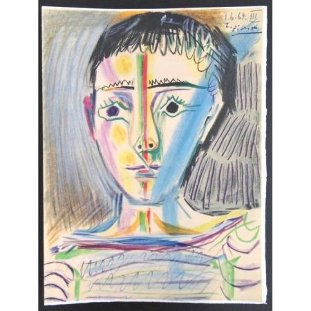 Lithographie Picasso (After) - Garçonnet III