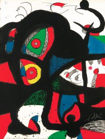 Eau-Forte Et Aquatinte Miró - Gargantua
