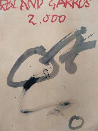Lithographie Tapies - Garros