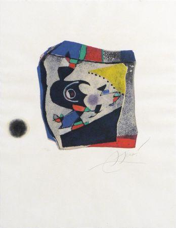Gravure Miró - Gaudí IX