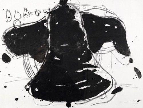 Lithographie Kounellis - Gegen die Folter
