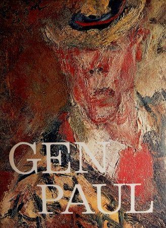 Livre Illustré Paul  - GEN PAUL par/by Pierre Davaine - Preface Dr J.Miller - Signature & envoi de Gen Paul / Hand-Signed and personal note from Gen Paul