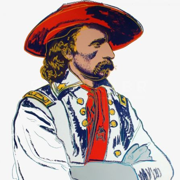 Sérigraphie Warhol -  General Custer (FS II.379)
