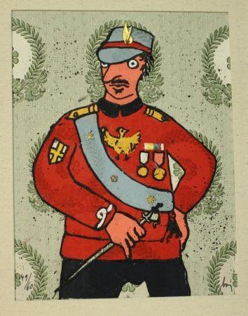 Eau-Forte Baj - Generale