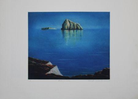 Eau-Forte Et Aquatinte Maibaum - Genesis:  Insel
