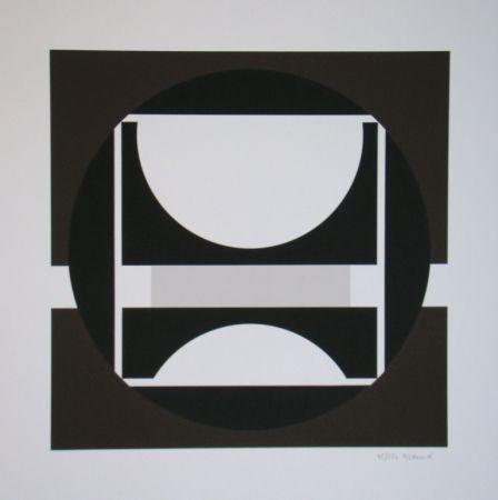 Sérigraphie Decock - Geometrische Abstractie