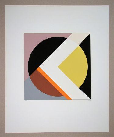 Sérigraphie Dexel - Geometrische Komposition