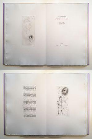 Livre Illustré Bellmer - Georges Bataille : Madame Edwarda. 12 gravures originales signées (1965).