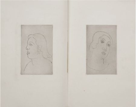 Livre Illustré Derain - Georges Gabory : LA CASSETTE DE PLOMB. Deux gravures originales et inédites par André Derain (1920)
