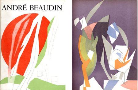 Livre Illustré Beaudin - Georges Limbour : ANDRÉ BEAUDIN, avec 9 lithographies originales en couleurs (1961).