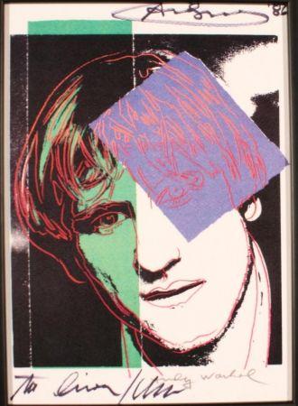 Affiche Warhol - GERARD DEPARDIEU