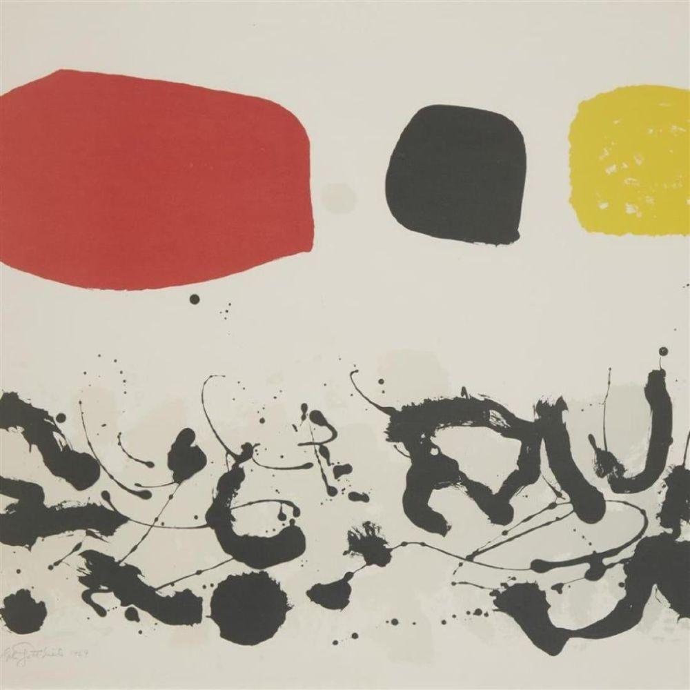 Lithographie Gottlieb - Germination III