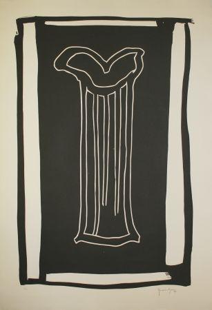 Linogravure Hernandez Pijuan - Gerro (Vase)