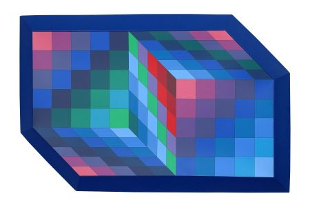 Multiple Vasarely - Gestalt Sin