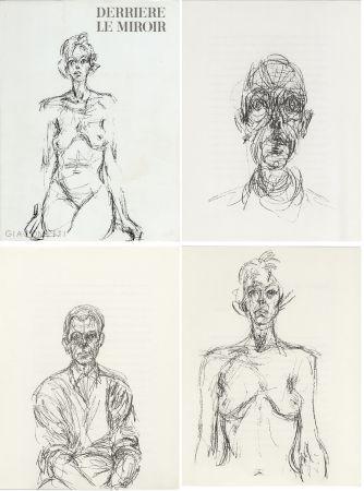 Livre Illustré Giacometti - GIACOMETTI. DERRIÈRE LE MIROIR N°127. Mai 1961